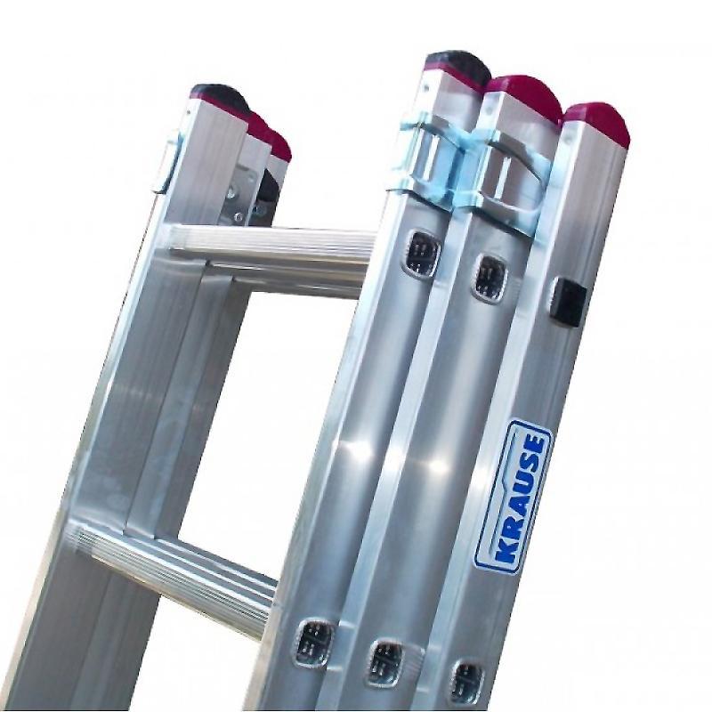 Scara multifunctionala din aluminiu Corda, 3x7 trepte