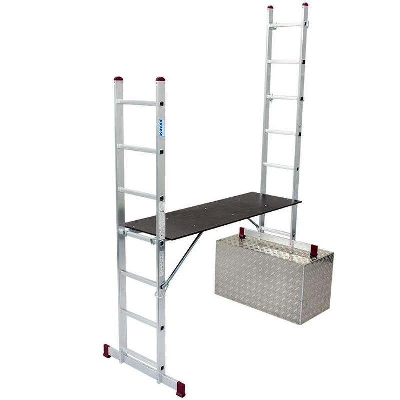 Scara / schela mobila Corda, aluminiu, 7 trepte
