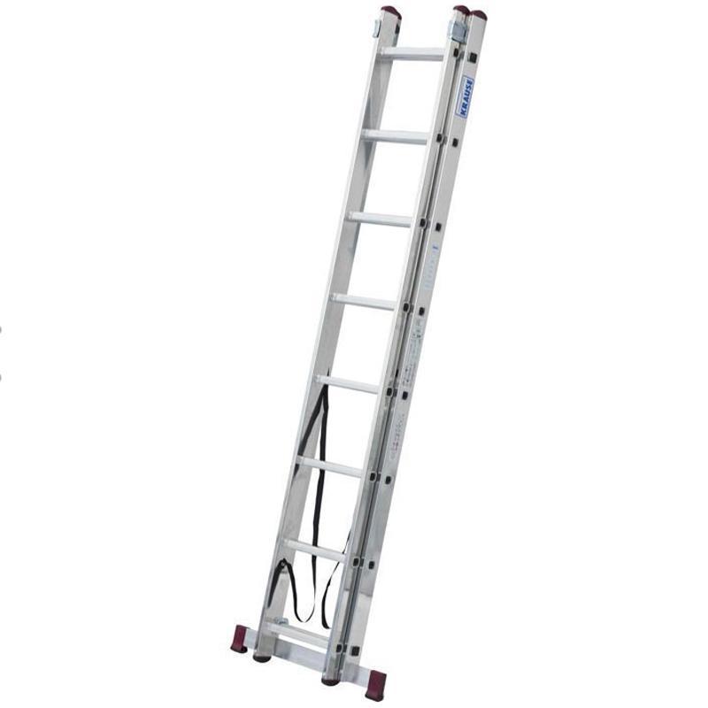 Scara multifunctionala din aluminiu Corda, 2x8 trepte