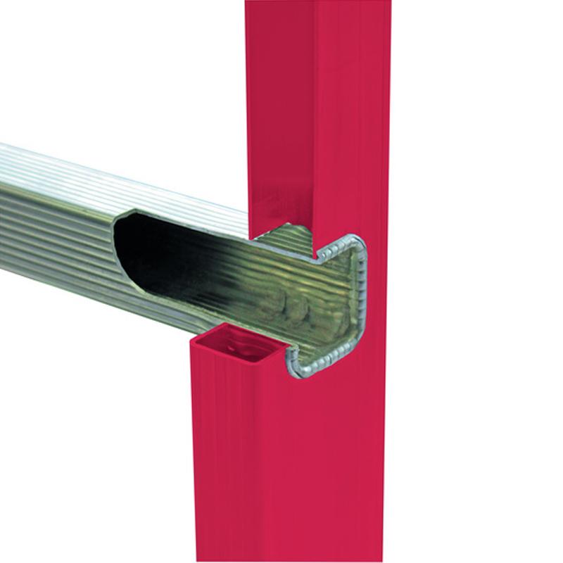 Scara dubla electroizolanta, laterale fibra de sticla, 2x4 trepte, max 1000V