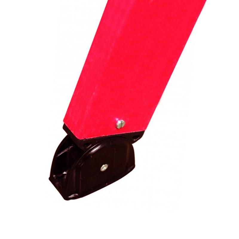 Scara dubla electroizolanta, laterale fibra de sticla, 2x10 trepte, max 1000V