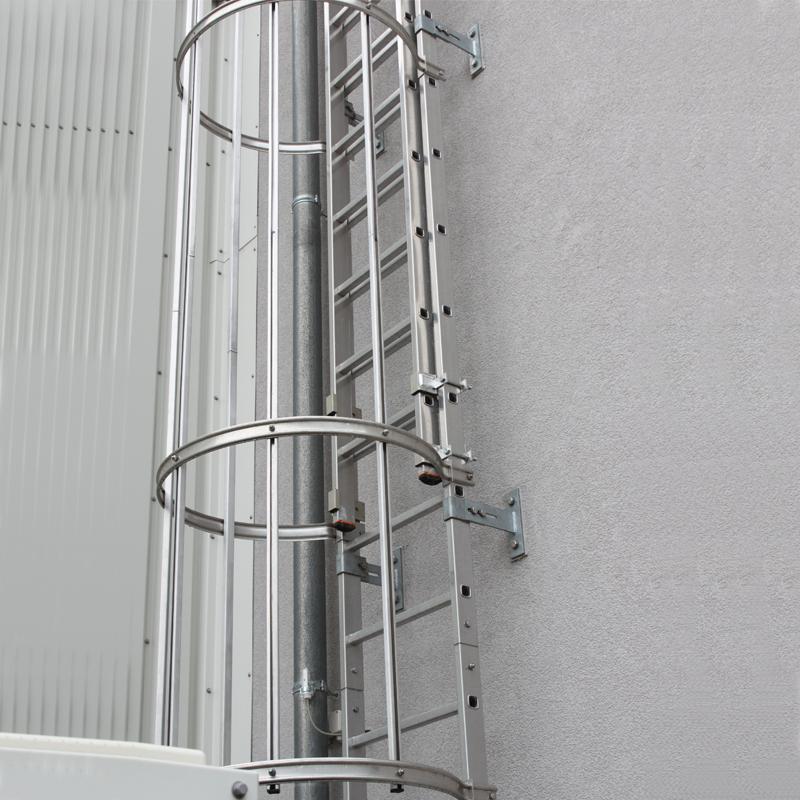 Scara KRAUSE de acces / evacuare / incendiu, aluminiu, 14,00 m