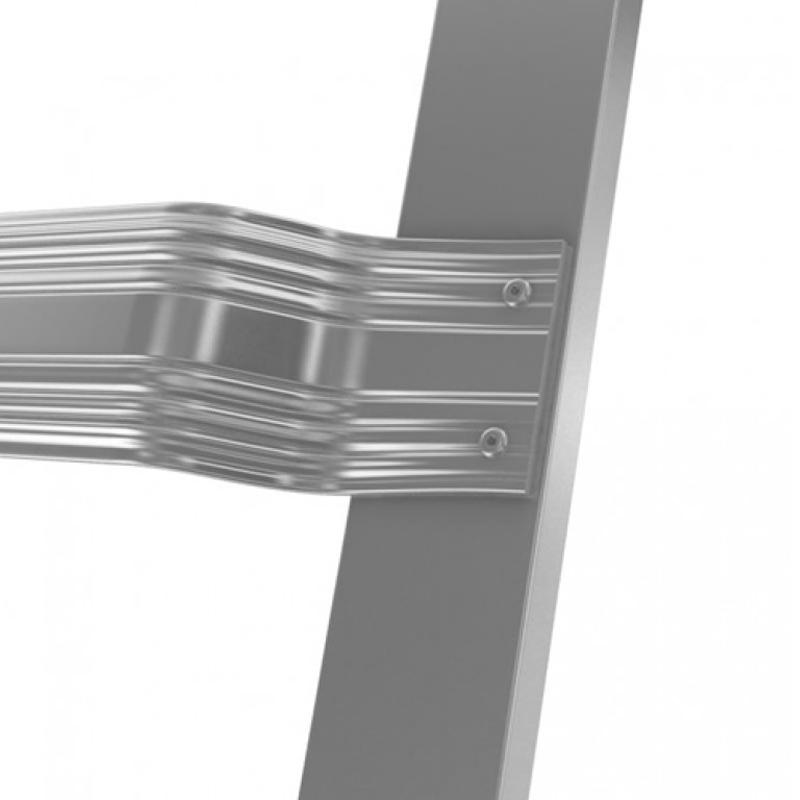 Scara de acoperis, aluminiu, 12 trepte, 3,35m