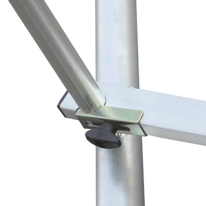 Schela Climtec 0,65 x 1.75m, aluminiu, inaltime lucru 3m, modul 0 (baza)