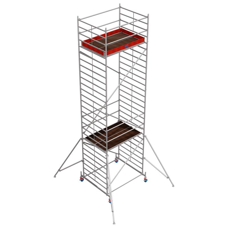 Schela mobila Stabilo S50 1,5 x 2m, aluminiu, inaltime lucru 8,4m