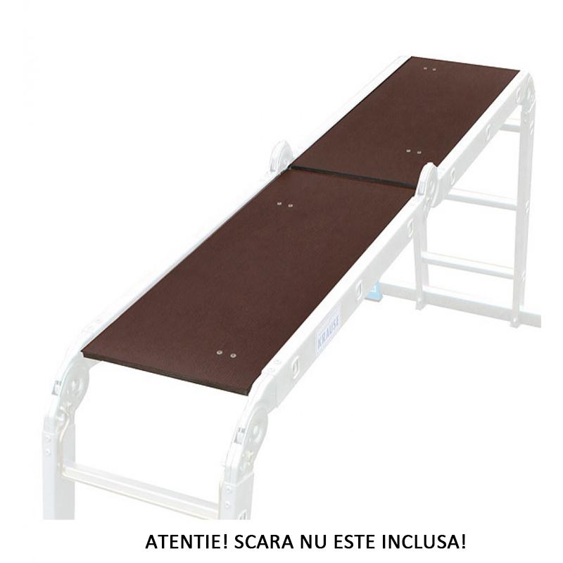 Set platforma pentru scara articulata Monto