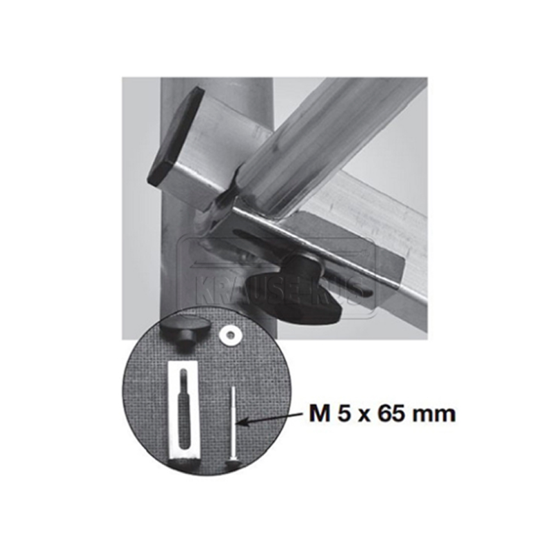 Pachet siguranta pentru bara orizontala/contravantuire (M5 x 65) PROTEC