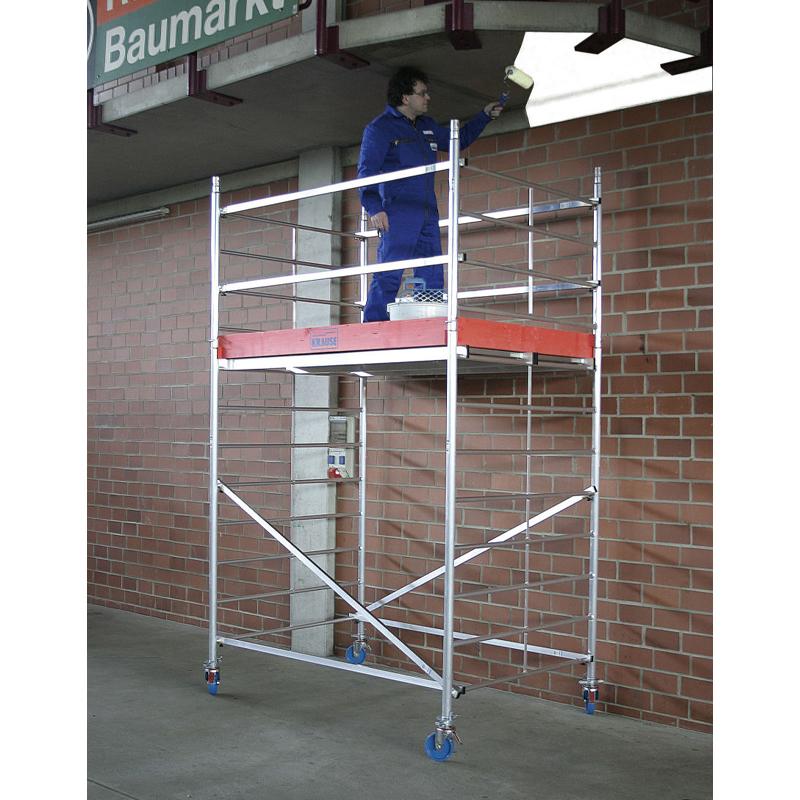 Schela Protec XXL 1,2 x 2m, aluminiu, inaltime lucru 2,9m