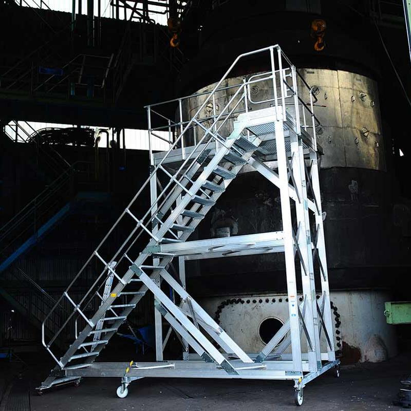 Scari mobile din aluminiu