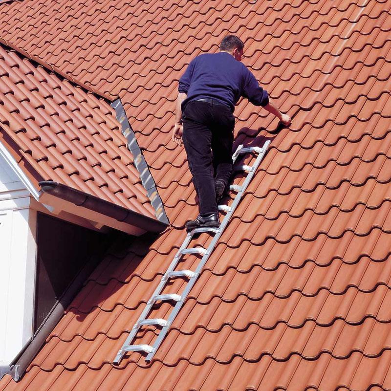 Scara de acoperis, aluminiu, 8 trepte, 2,25m