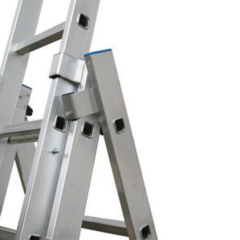 Scara multifunctionala din aluminiu Stabilo, 3x8 trepte