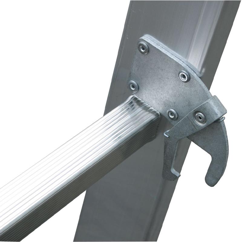Scara multifunctionala cu functie de egalizare din aluminiu Stabilo, 3x10 trepte
