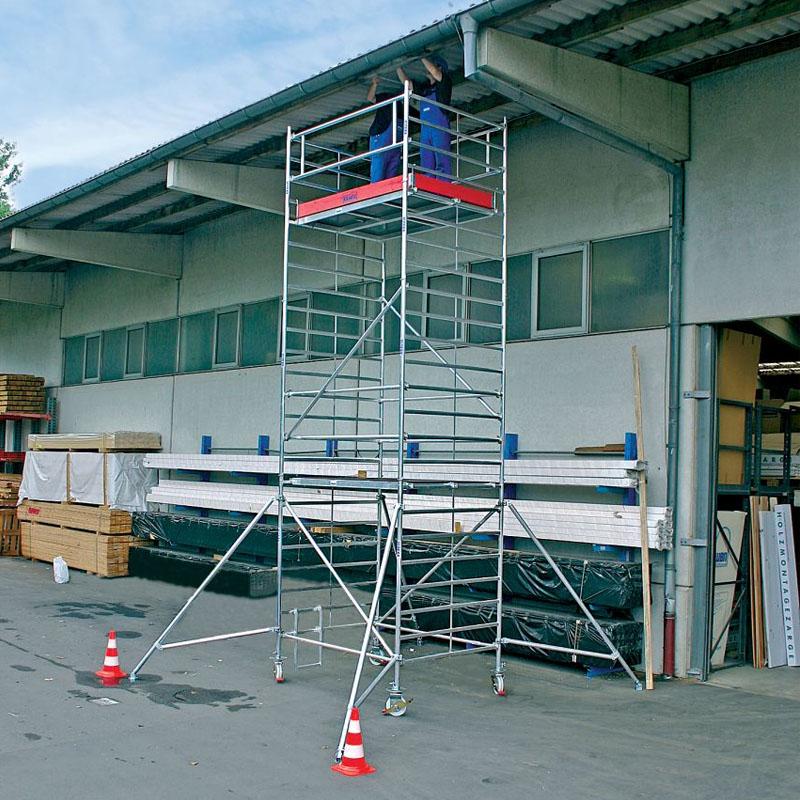 Schela mobila Stabilo S5000 1.5 x 3.0m, aluminiu, inaltime lucru 8,3m