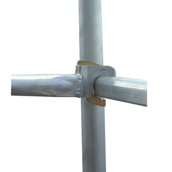 Schela mobila Stabilo S10 0,75 x 2,5m, aluminiu, inaltime lucru 4,4m