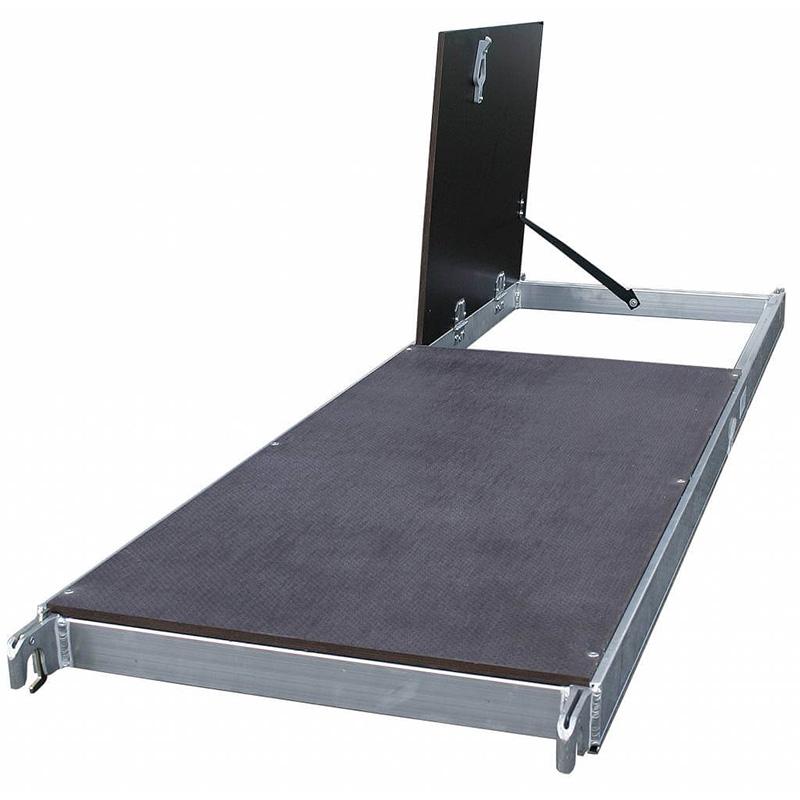 Schela Protec 0,6 x 2m, aluminiu, inaltime lucru 4,3m (0+Comp.+Roti)