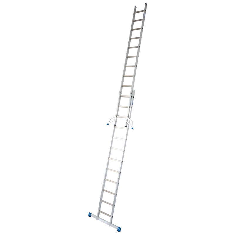Scara culisanta din aluminiu Stabilo, 2x12 trepte