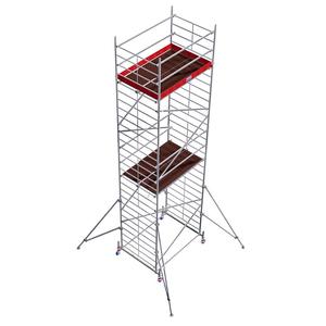 Schela Protec XXL 1,2 x 2m, aluminiu, inaltime lucru 8,3m