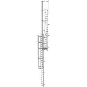 Scara KRAUSE de acces / evacuare / incendiu, aluminiu, 11,76 m